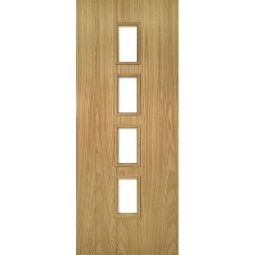 DoorsDirect2u Deanta Galway Oak Unglazed Internal Door