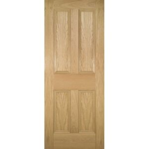 DoorsDirect2u Deanta Kingston Oak Internal Fire Door