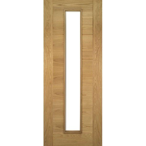DoorsDirect2u Deanta Seville Oak Glazed Prefinished Internal Fire Door