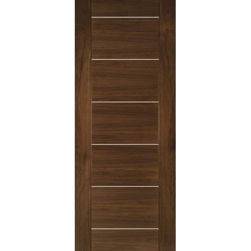 DoorsDirect2u Deanta Valencia Walnut Prefinished Internal Fire Door