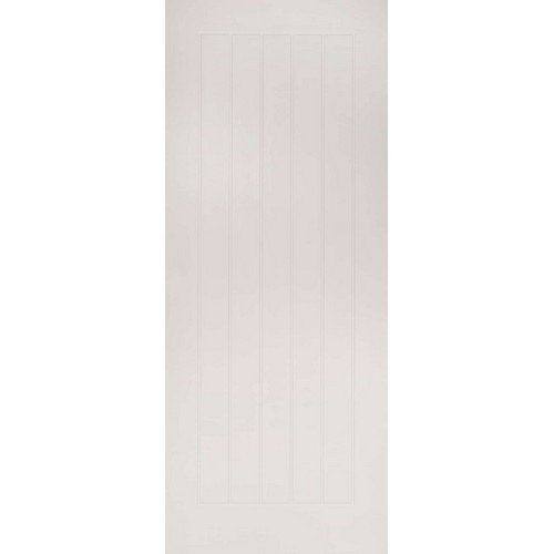 DoorsDirect2u Deanta Ely White Primed Internal Fire Door