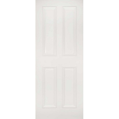DoorsDirect2u Deanta Rochester White Primed Internal Fire Door