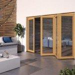 DoorsDirect2u JELD-WEN 3600MM Kinsley Hardwood Folding Patio Doors