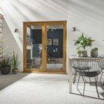 DoorsDirect2u JELD-WEN 1200MM Kinsley Hardwood French Patio Doorset