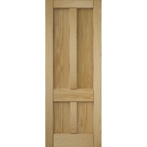 DoorsDirect2u JELD-WEN 4 Panel Oak Interior Door
