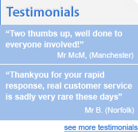 Testimonials from Doors and Fittings