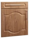 Denham Open Frame Door in Light Ferrara Oak