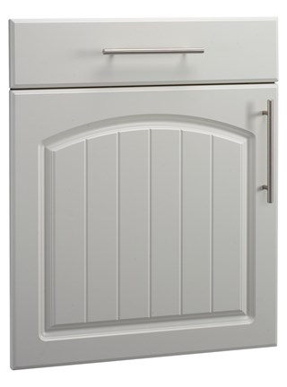 Cottage Open Frame Door in Pale Cream