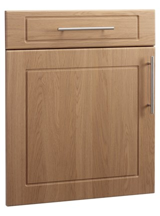 Esquire Open Frame Door in Winchester Oak