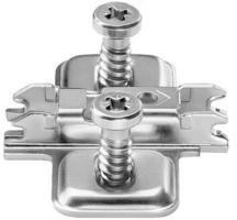 Blum Steel Clip Top 0mm Euroscrew Backplate