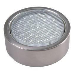 GX53 White LED surface mounted light, Steel