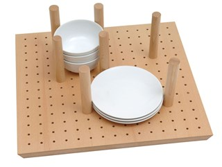 Crockery Peg Board for use with 450mm deep Tandembox