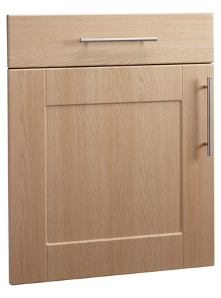 Shaker Open Frame Door in Ellmau Beech