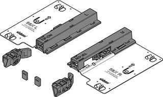Blum Tip-On Mechanism for Tandem Runners (None soft close only)