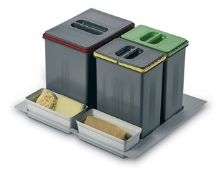 In-Drawer Waste Bin (300mm height) to Suit 600mm Cabinet