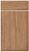 Non Gloss Milano Cherry bedroom door finish