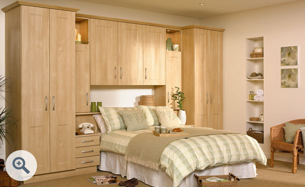 Canadian Maple bedroom picture