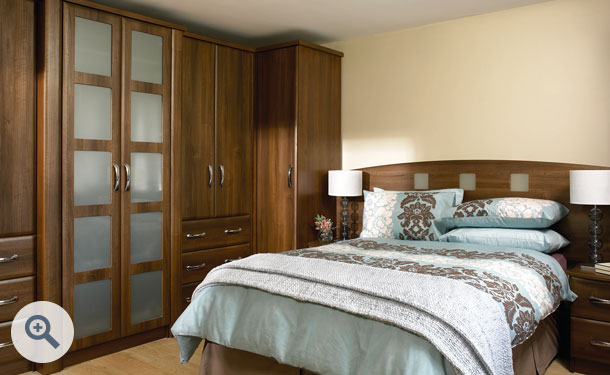 Dark Walnut bedroom picture