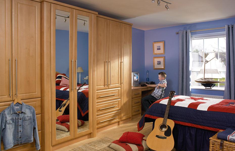 Premier ashford wardrobe doors in celtic birch by homestyle for Celtic bedroom ideas
