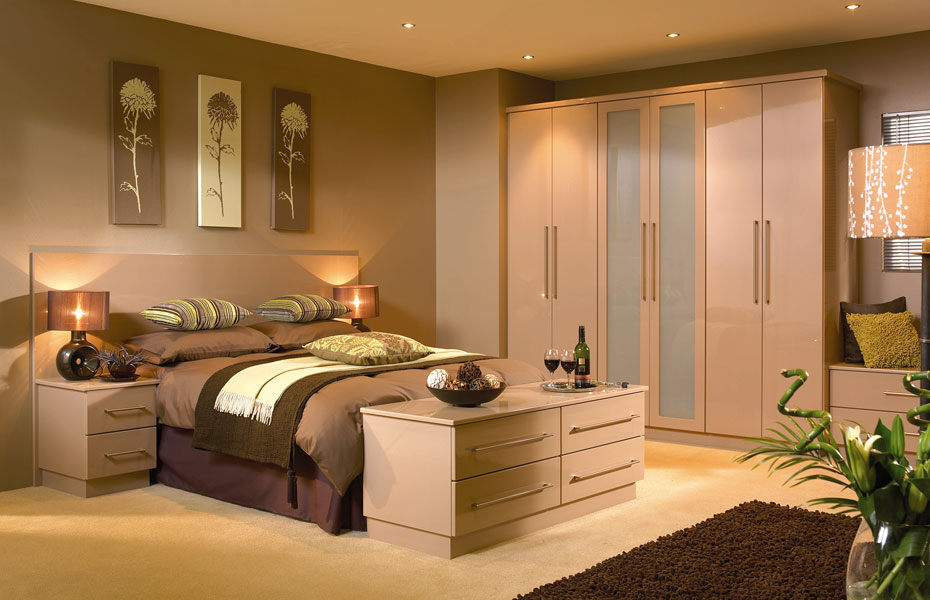 Premier Duleek Wardrobe Doors In High Gloss Cappuccino By HOMESTYLE