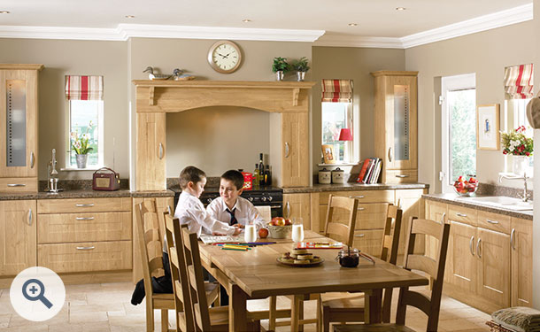 Winchester Oak kitchen picture