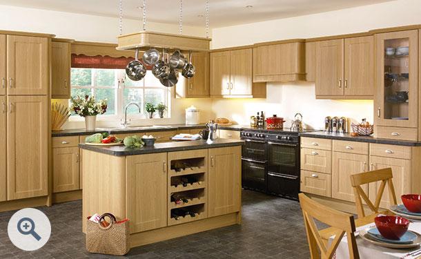 Lissa Oak kitchen picture