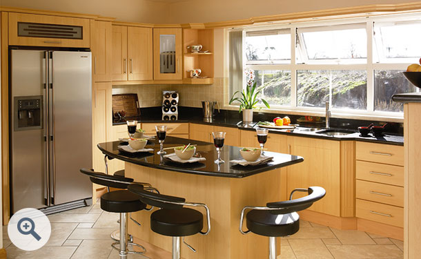 Beech kitchen picture