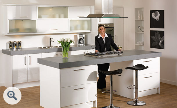 High Gloss White kitchen picture