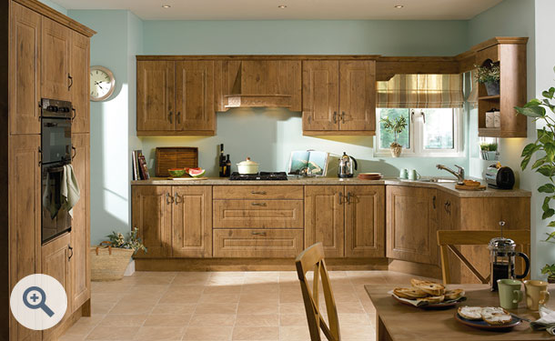 Lancelot Oak kitchen picture