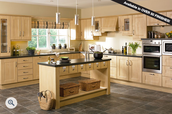 Sandy Birch kitchen picture