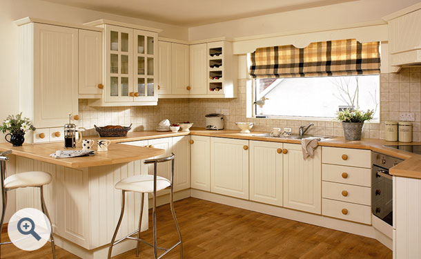 Hornschurch Ivory kitchen picture