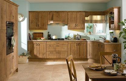 Beaded Melbourne kitchen in Lancelot Oak