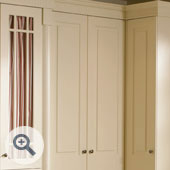Fretted Wardrobe Door Frame