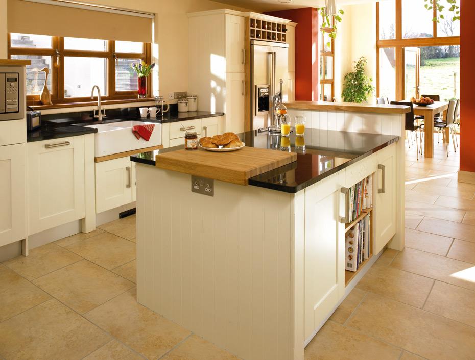 Shaker cologne kitchen doors in hornschurch ivory by homestyle for Homestyle kitchen doors