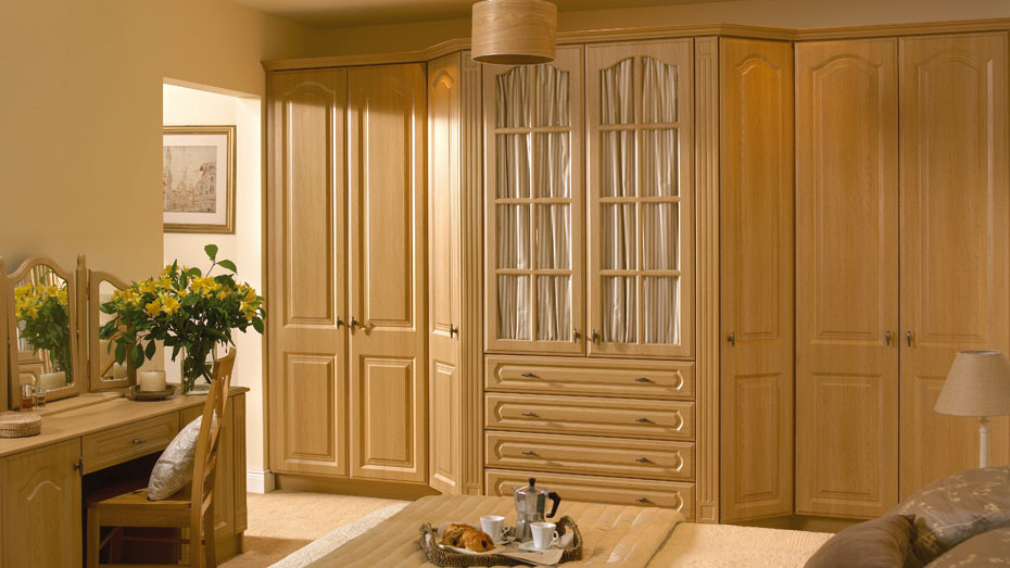 Open wardrobe framed doors for glass or mirror homestyle for Homestyle kitchen doors