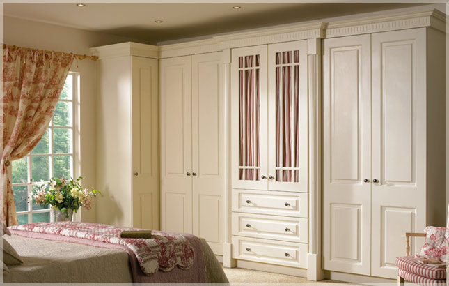 Duleek High Gloss Ivory Kitchens Cabinet Doors