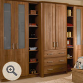 Top Only Open Wardrobe Door Frame