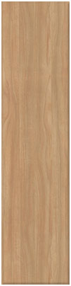 Light Walnut finish of bedroom doors