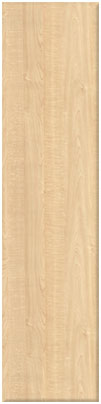 Maple Forbo finish of bedroom doors