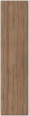 Olivewood finish of bedroom doors