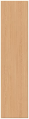 Beech finish of bedroom doors