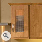 Full Open Kitchen Door Frame
