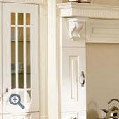 Fretted Kitchen Door Frame