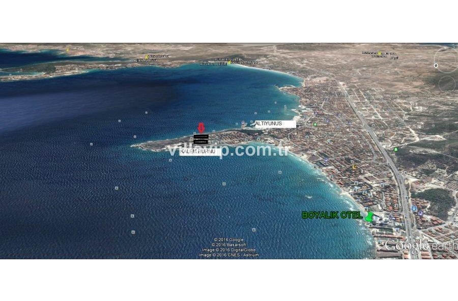 Altınyunus Çift Cephede Deniz Manzaralı Arsa görseli