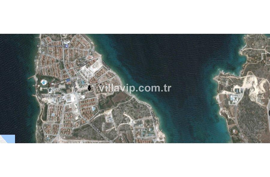 Dalyanda Deniz Manzaralı  10 Evlik Arsa görseli