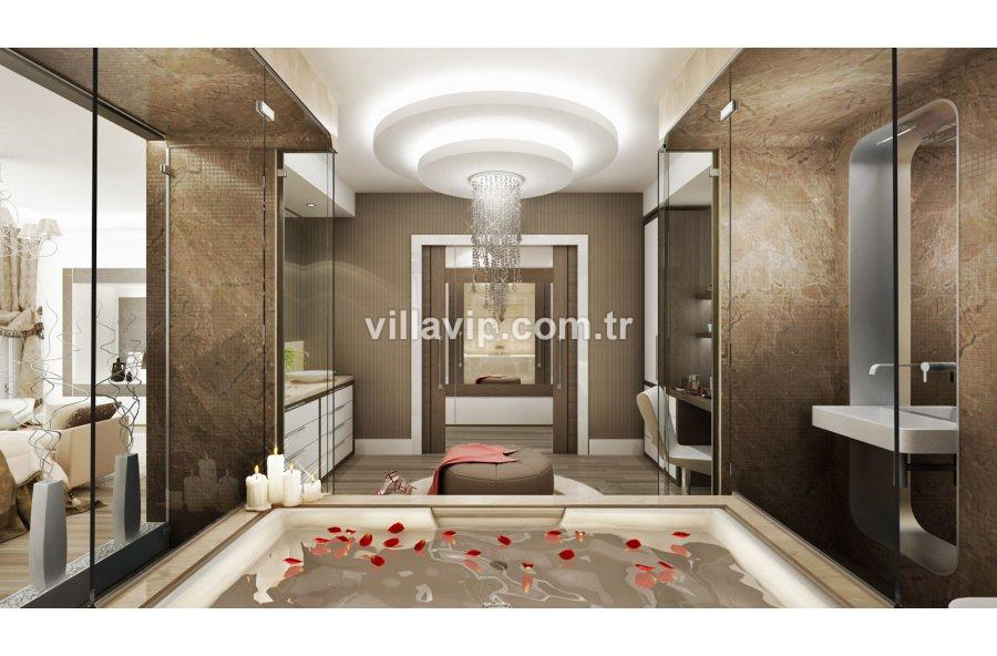 Bornova  Dostlar Sitesinde 550  M2 Villa görseli