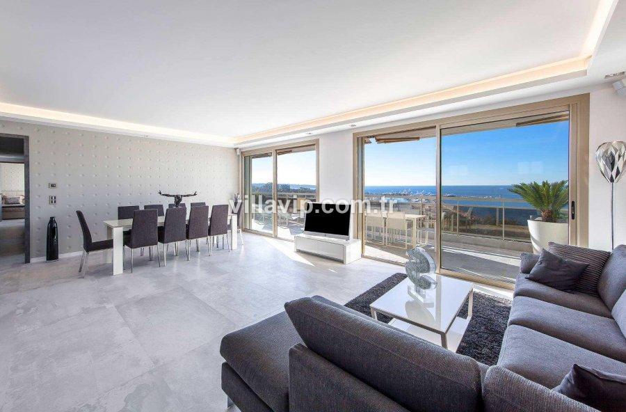 Cannes Panaromik Deniz Manzaralı Penthouse görseli