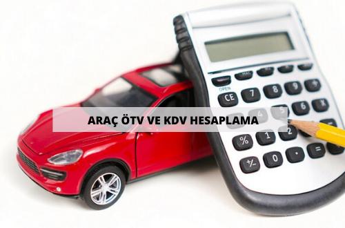 Araç ÖTV ve KDV Hesaplama