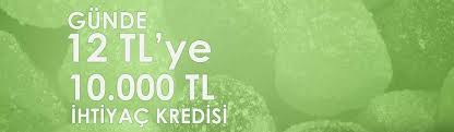 Günde 12 Liraya 10.000 TL İhtiyaç Kredisi