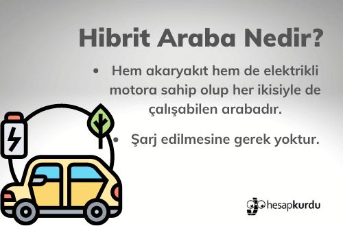 Hibrit Araba Nedir?